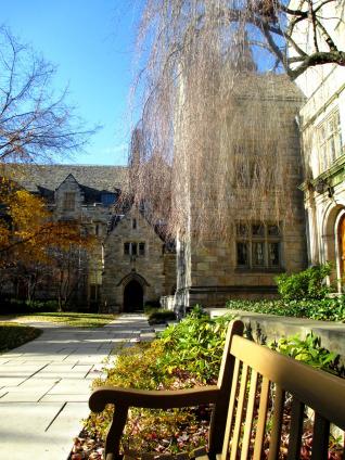 Branford College courtyard