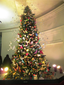 Origami Christmas Tree American Museum Of Natural History Nyc