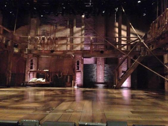 Hamilton musical set