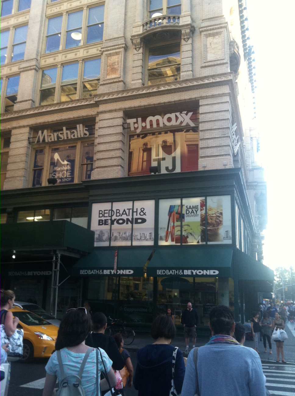Marshalls Tj Maxx And Bed Bath Beyond Noted In Nyc