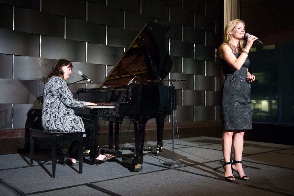 Kelli O'Hara and Ann Hampton Callaway. Photo credit by Christine Baker.